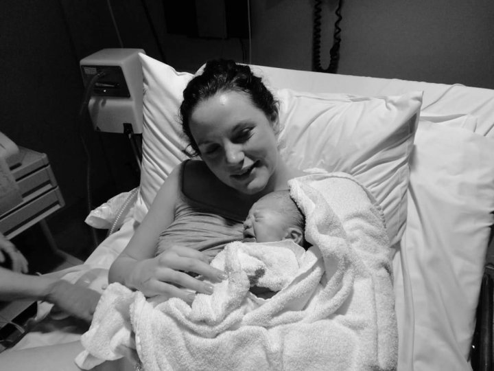 Childbirth, birth story, delivering baby, firstborn